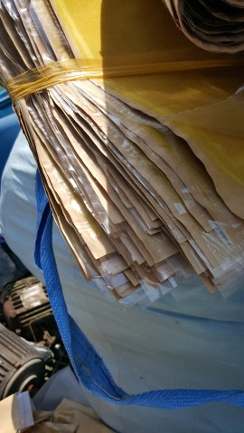 PVC dính giấy