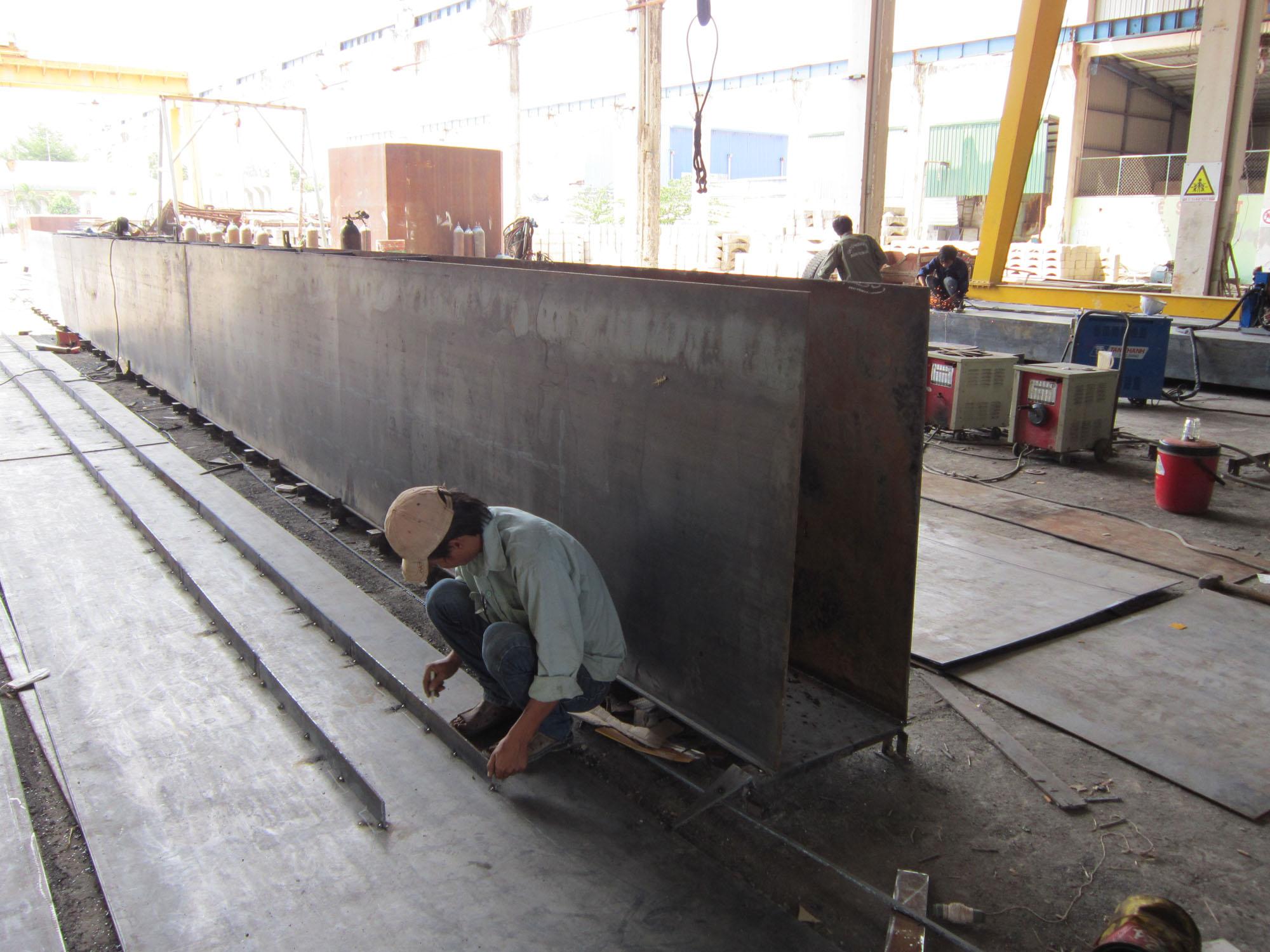 Sản xuất cầu trục