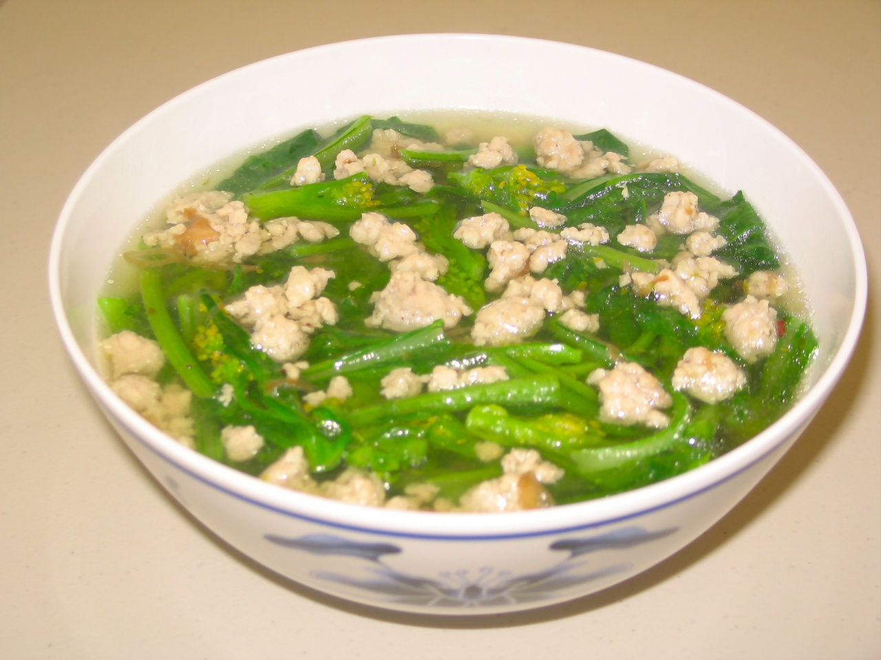 Canh cải ngọt