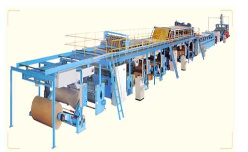 Dây chuyền sản xuất carton sóng 5 lớp