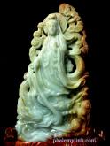 Phật Bà cẩm thạch huyết
