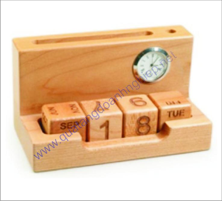 Quà tặng để bàn bằng gỗ