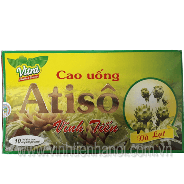 Cao Atiso uống liền hộp 10 tuýp x 10ml