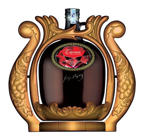 Rượu vang Carmen Chile 3 lít kệ xoay