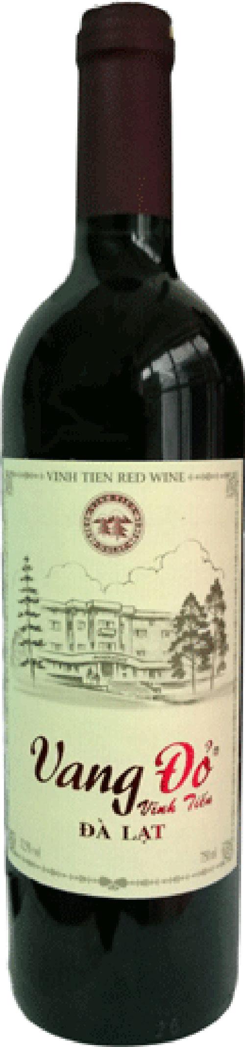 Rượu vang đỏ 12.5% - 750ml
