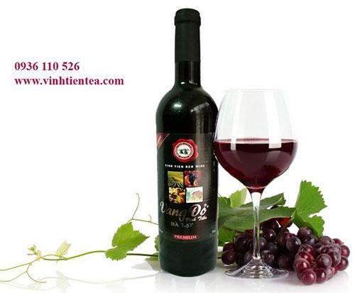 Rượu vang đỏ xuất khẩu