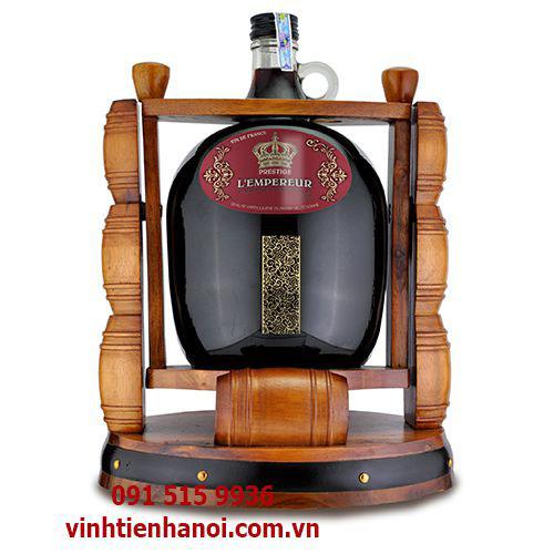 Rượu vang Pháp 3 lít kệ trống