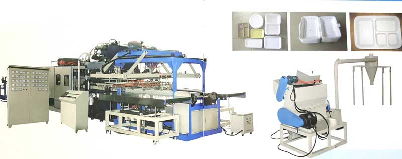Máy sản xuất hộp xốp