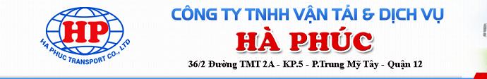 Vận Tải Hà Phúc - Công Ty TNHH Vận Tải & Dịch Vụ Hà Phúc