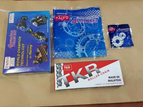 Nhông xích đĩa xe máy TKR