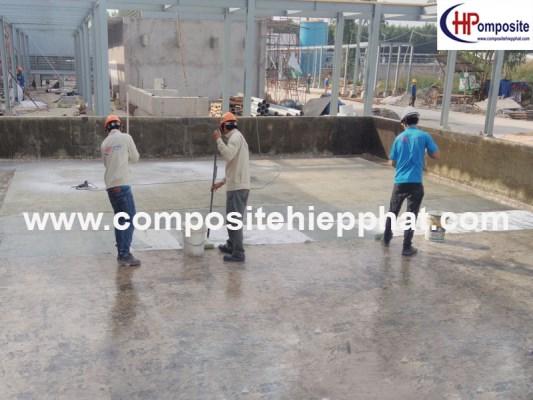 Phủ nhựa FRP cho nền bê tông