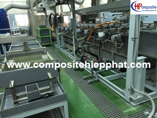 Bọc phủ composite cho hệ thống xi mạ