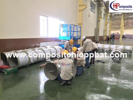 Ống PP cho hệ thống dẫn khí thải