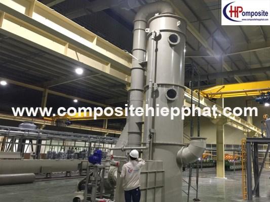 Tháp nhựa PP xử lý khí