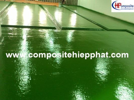 Bọc phủ nhựa FRP cho nền bê tông