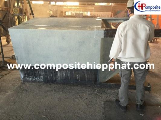 Phủ composite cho bồn sắt