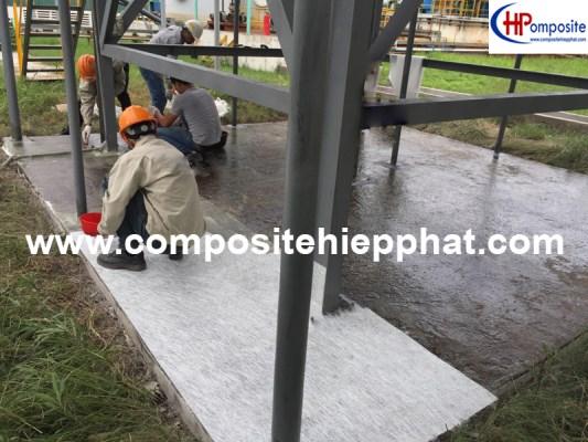 Phủ FRP cho nền bê tông