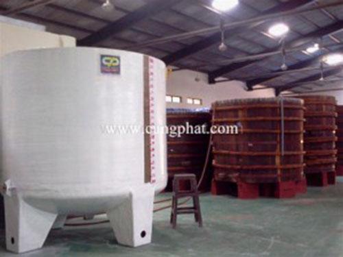 Bồn composite FRP ướp nước mắm
