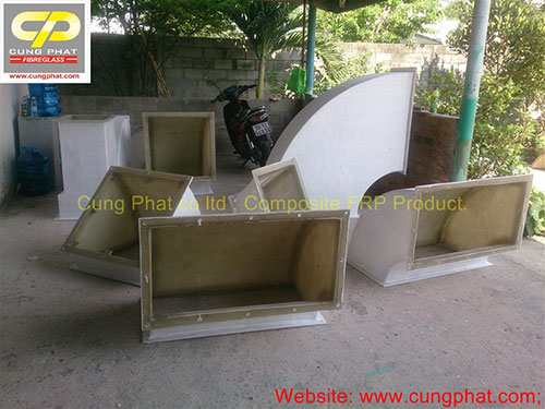 Hệ thống ống hút Compposite FRP