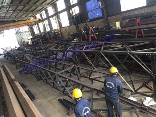 Thi công cột thép Bắc Ninh