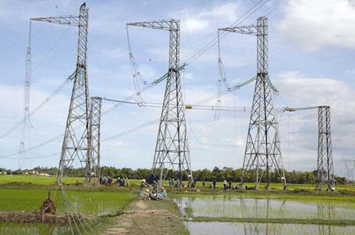 Thi công đường dây Đông Anh - Bắc Ninh