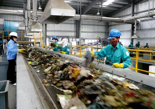 Xử lý chất thải rắn sinh hoạt
