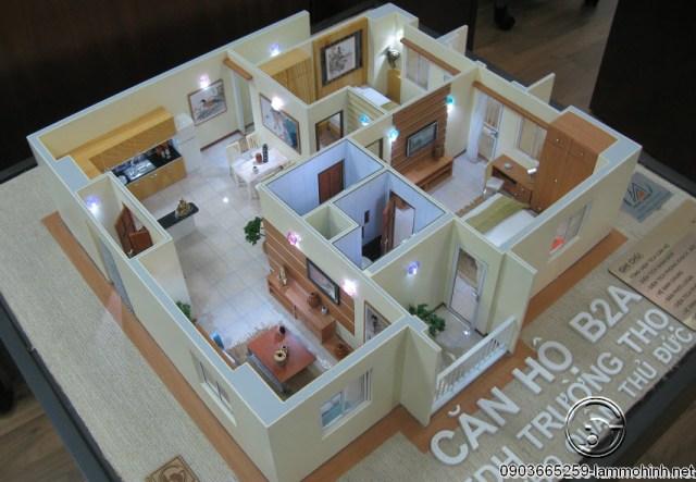 Mô hình nội thất chung cư
