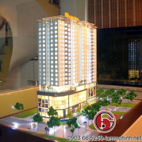 Mô hình khách sạn Hilton - Đà Nẵng