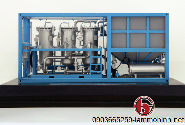 Mô hình máy công nghiệp OCS
