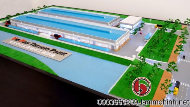 Mô hình kiến trúc Vie-Pan Techno Park