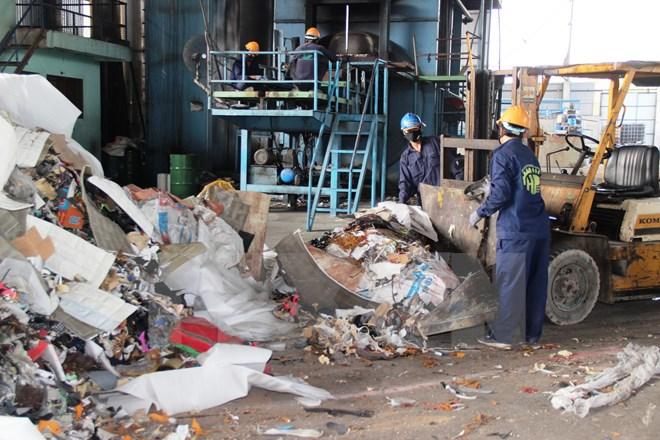 Xử lý rác thải công nghiệp