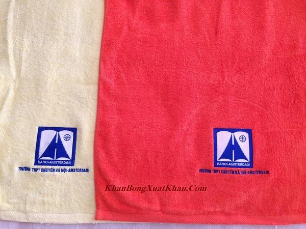 Khăn bông quà tặng in logo
