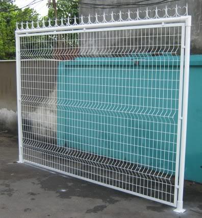 Hàng rào sơn tĩnh điện