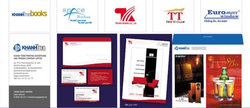 Thiết kế và in ấn poster, logo thương hiệu…