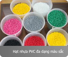 Hạt Nhựa PVC Đa Màu Sắc