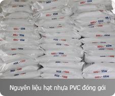 Nguyên Liệu Hạt Nhựa PVC Đóng Gói