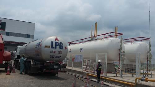 Lắp đặt bồn trạm khí công nghiệp