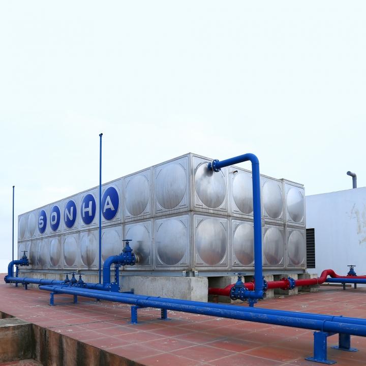 Bảo dưởng bồn chạm, bồn hóa chất công nghiệp