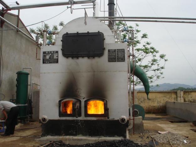 Lò hơi đốt dầu