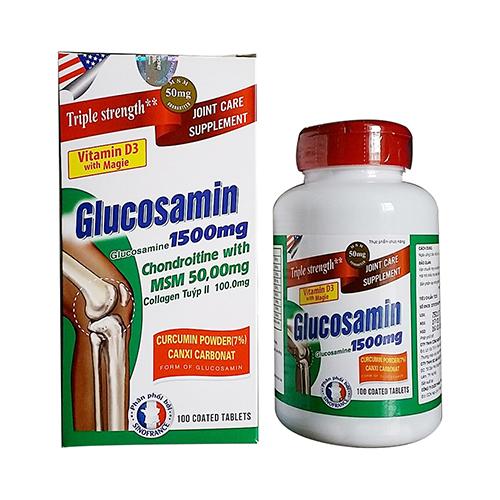 glucosamine 1500mg Chondroitin MSM