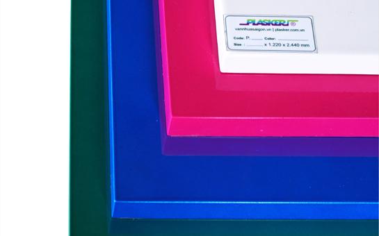 Ván nhựa PVC Plasker sơn phủ