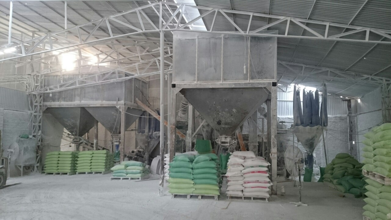 Xưởng sản xuất công ty