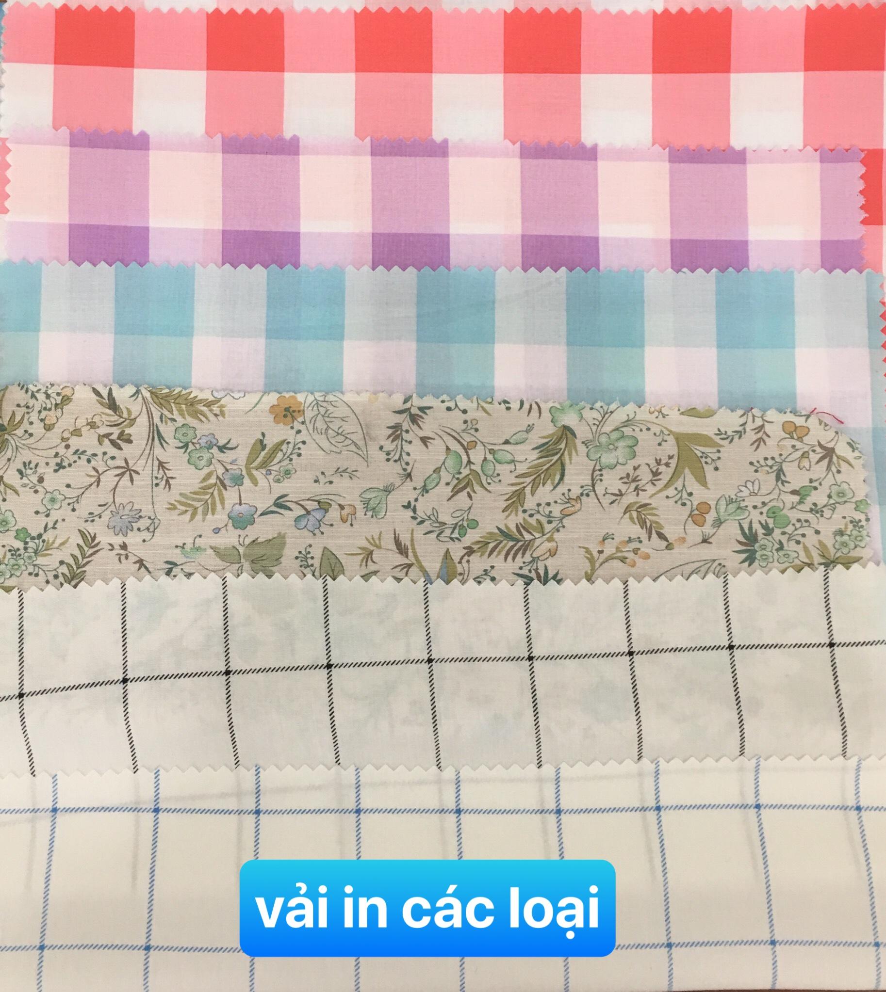 Vải in các loại