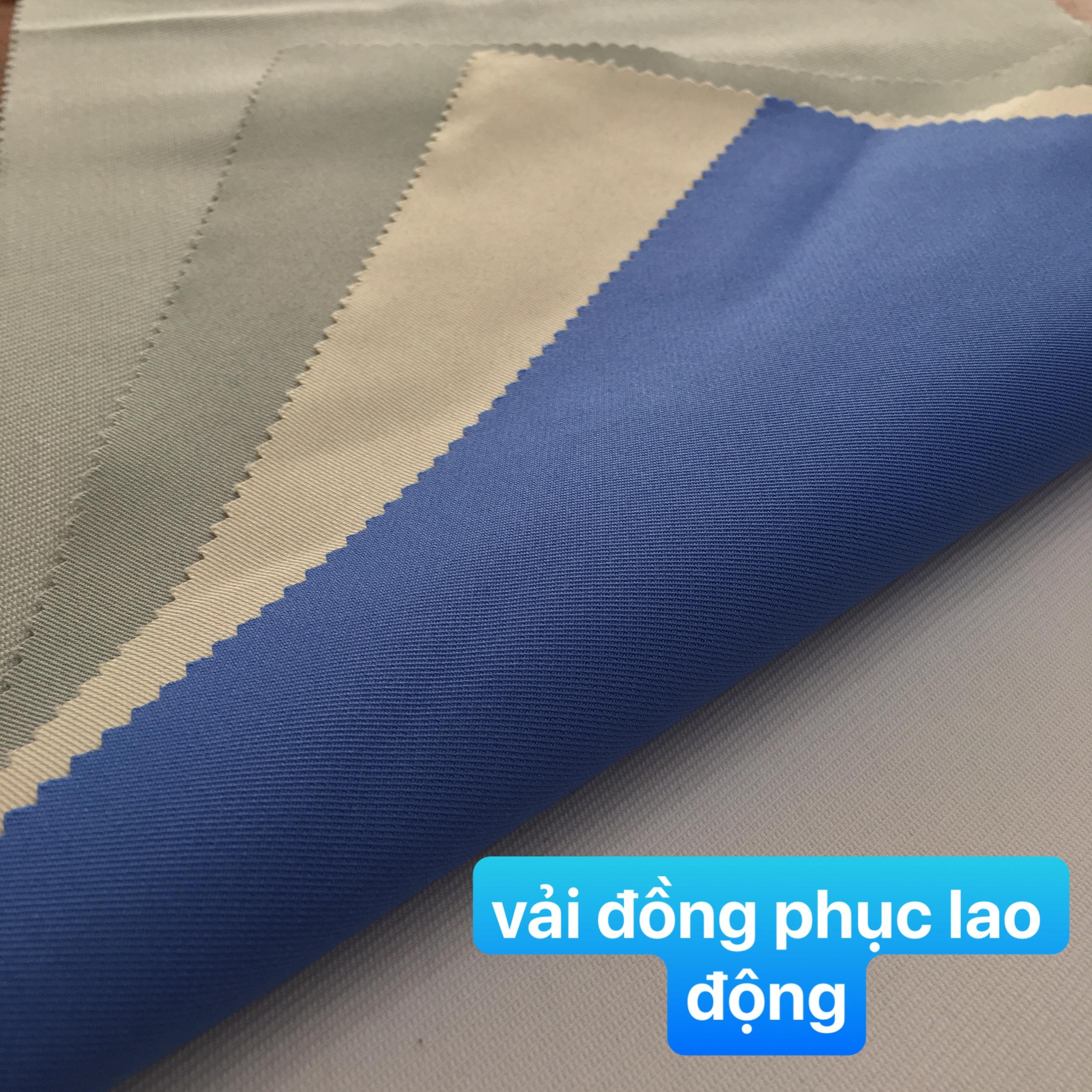Vải đồng phục lao động