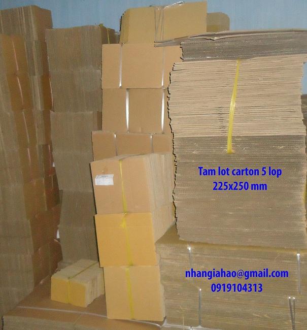 Tấm lót carton 5 lớp