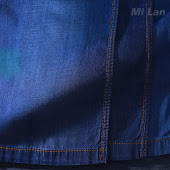 Vải jean bé trai