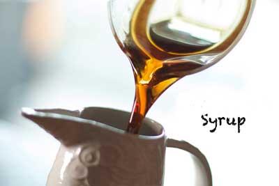 Syrup trà