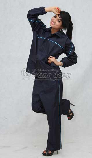 áo mưa bộ người lớn