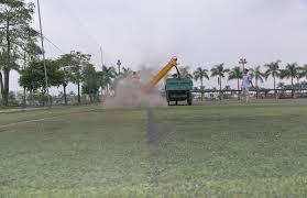 Bảo dưỡng sân cỏ nhân tạo