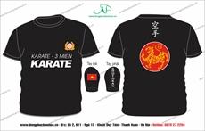 áo sơ mi karate 3 miền